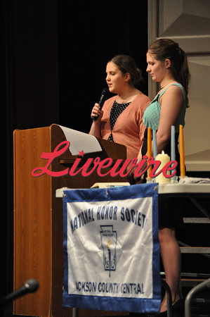 JCC National Honor Society Induction 2014