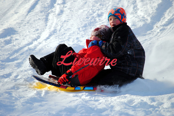 Riverside Sledding 3-4-14