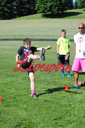 Coach T FB Camp 2015